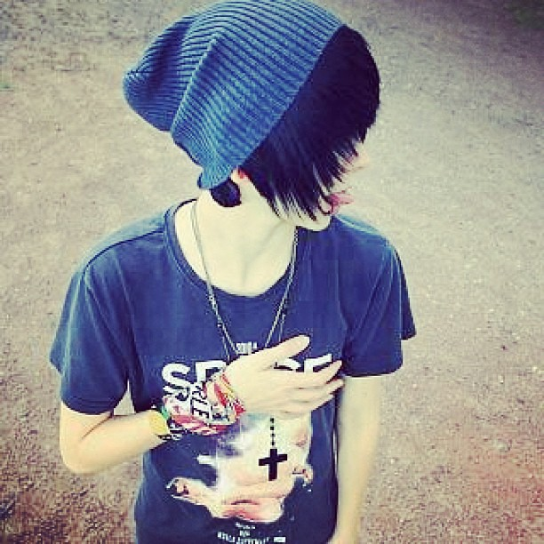 Emo Boy Guy Cool Look Hair Photography Like Follo