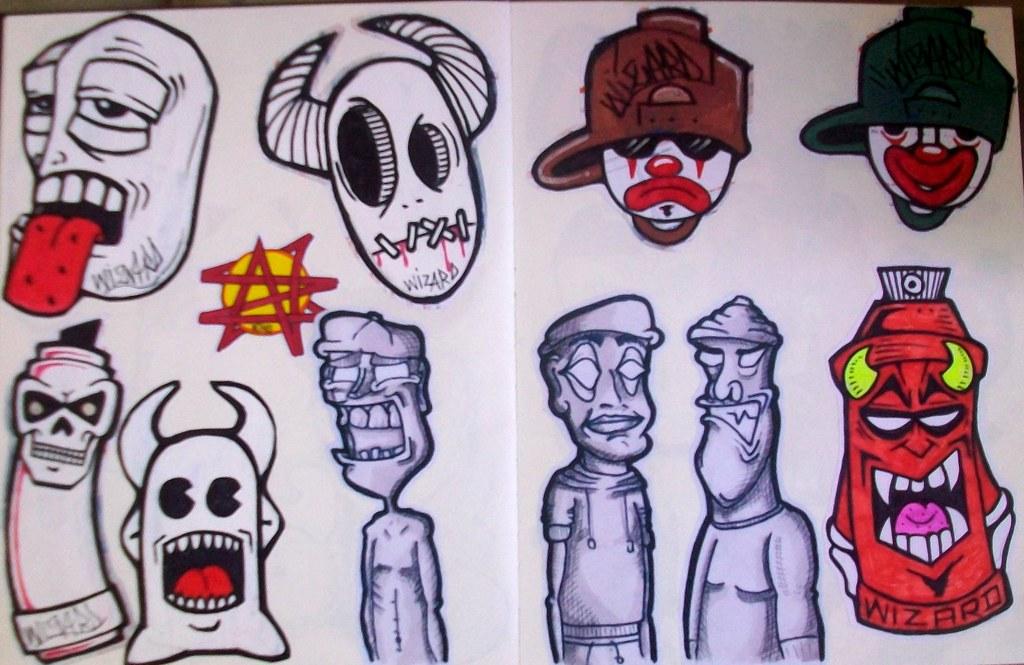 Рисунки граффити для мальчиков