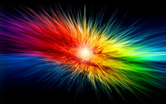Abstract Colorful Explosion Wallpaper