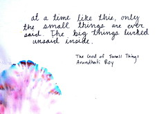 The God Of Small Things Lindsey Bartlett Flickr