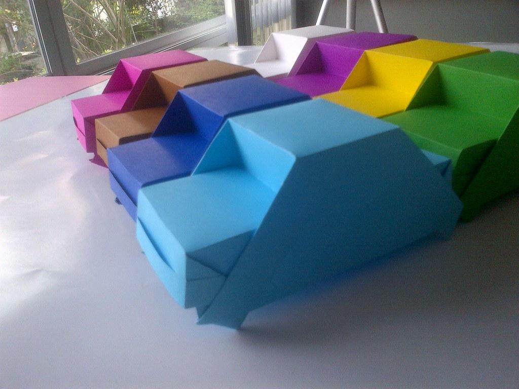 Origami Car Jiranonm M Flickr