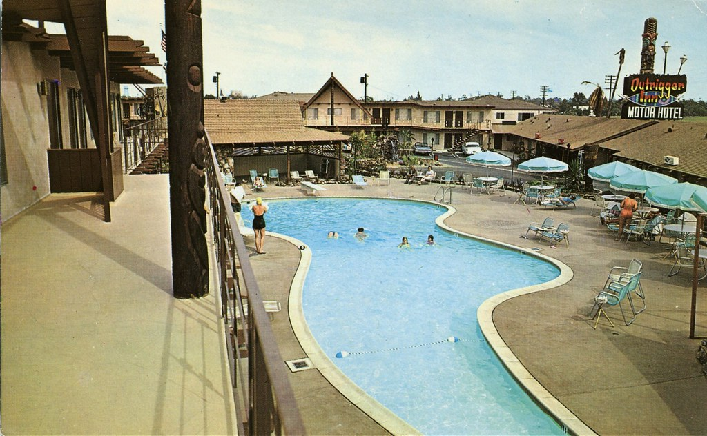 The Outrigger Inn Motor Hotel Long Beach Ca Swellmap