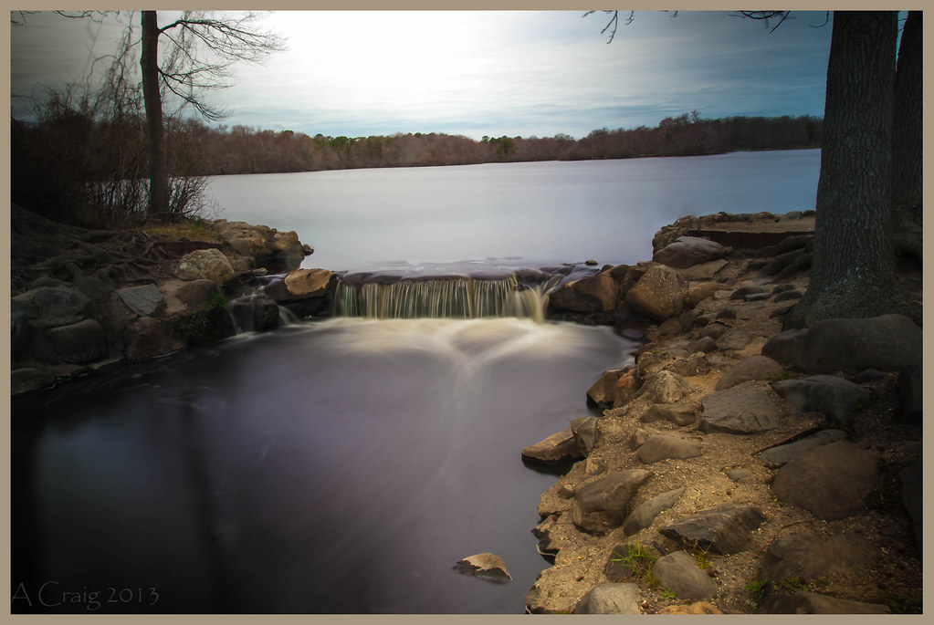 Lake Falls Belmont Lake State Park Babylon Ny Andy C