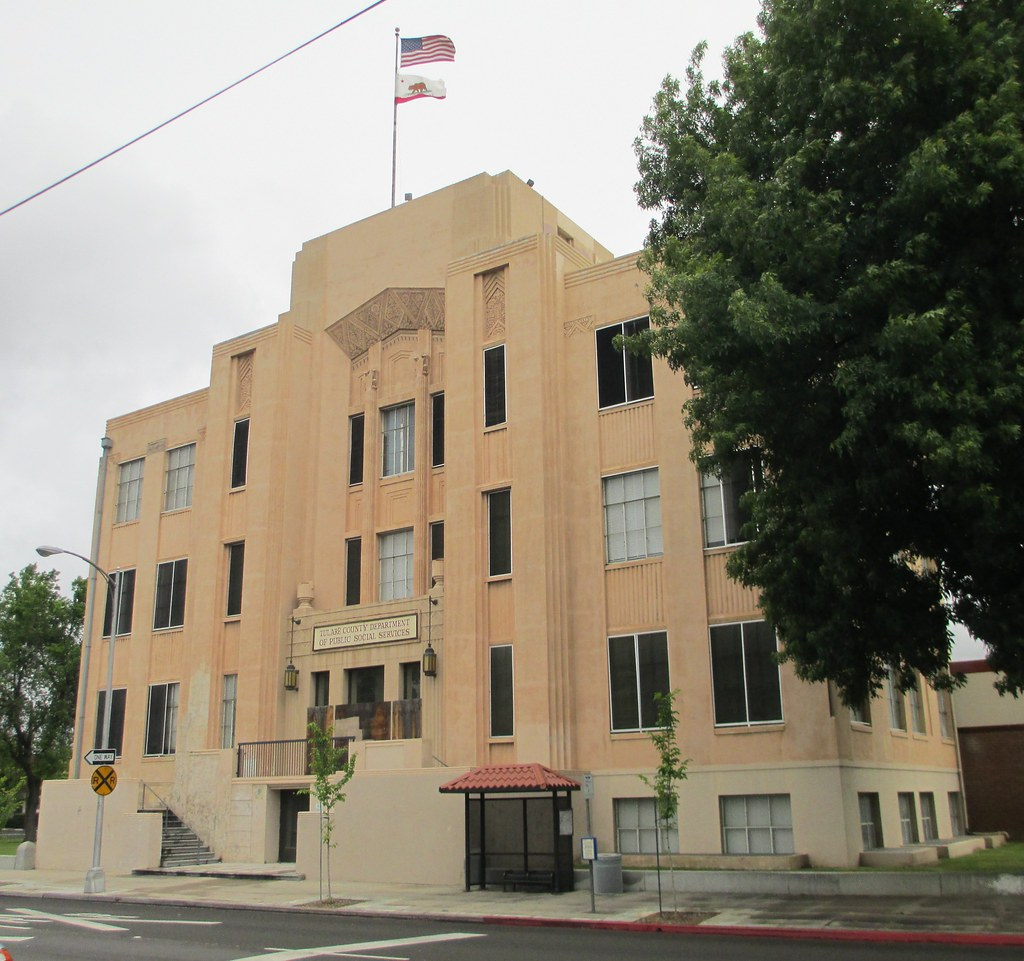 Old Tulare County Courthouse Visalia California Flickr