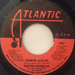 ARETHA FRANKLIN:SPANISH HARLEM(LABEL SIDE-A)