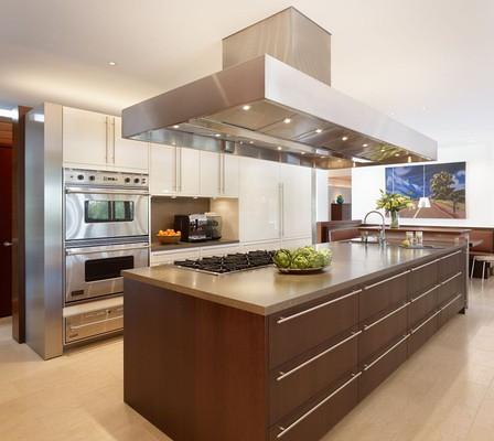 Isla moderna cocina isla cocinas modernas danieleralte - Cocinas islas modernas ...