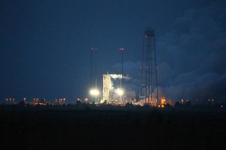 "Antares Conducts ""Hot Fire"" Test 