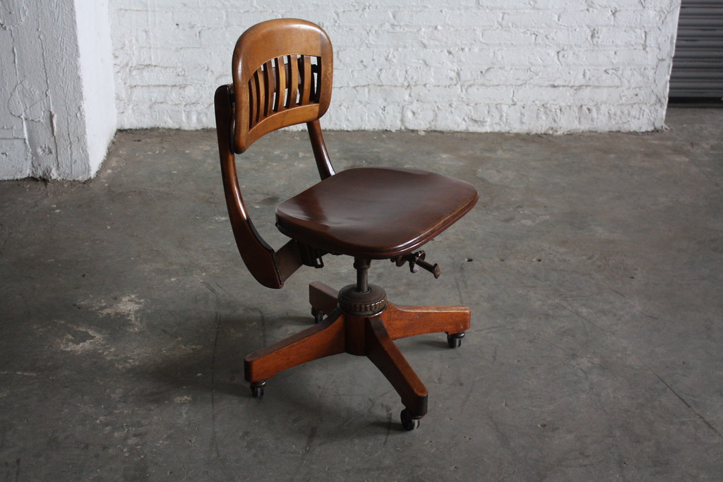 vintage swivel chairs stunning sikes vintage scuplted walnut industrial swivel o 3259
