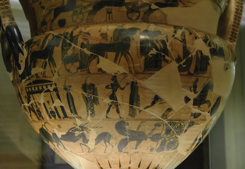 1 Franois Vase A Compendium Of The Greek Myths The Fran Flickr