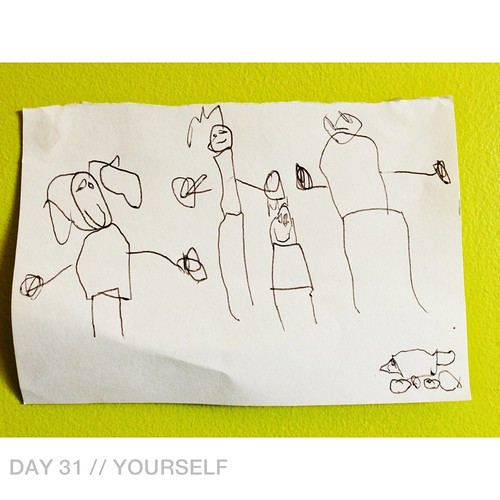 Day 31 // Yourself | by 74 Lime Lane