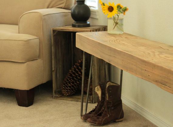 Miraculous Reclaimed Wood Beam Bench Etsy Com Shop Atlaswoodco Cu Ibusinesslaw Wood Chair Design Ideas Ibusinesslaworg