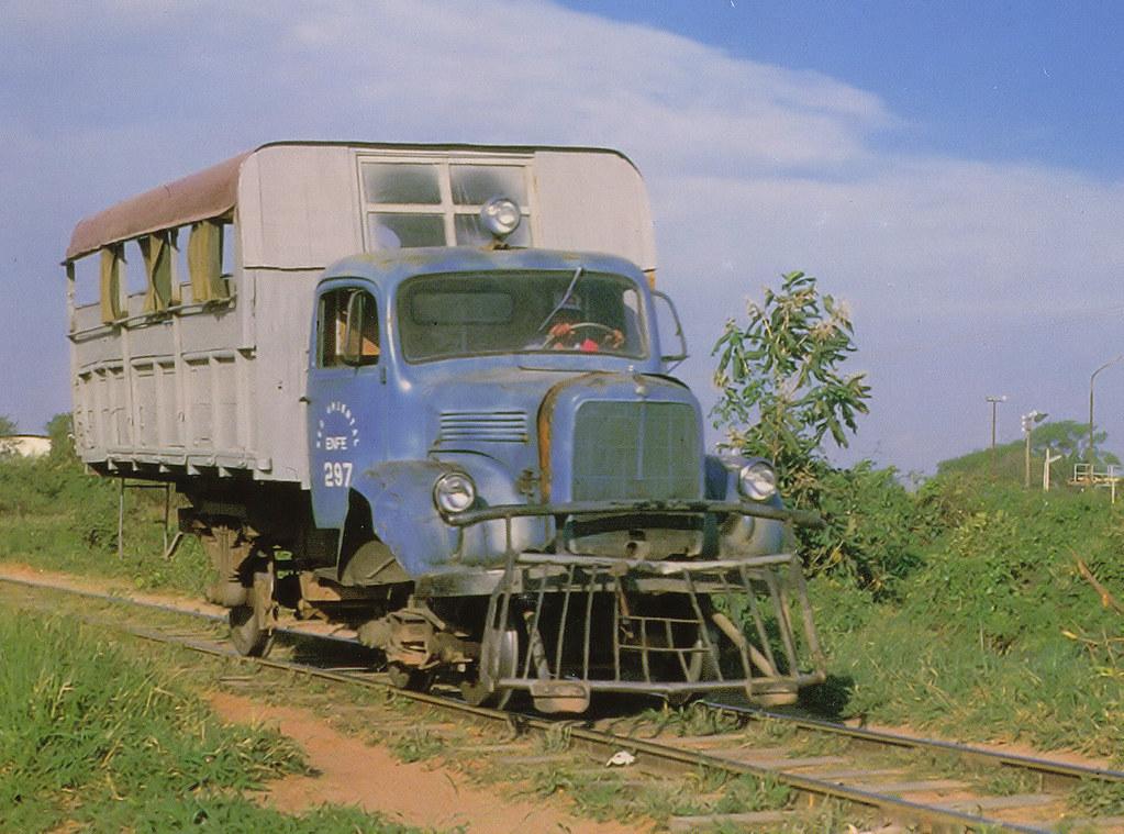The Rail Bus Bolivia Santa Cruz De La Sierra