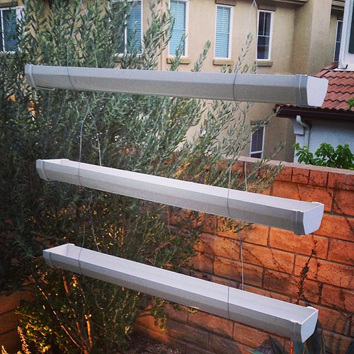 3 Tier Strawberry Planter: Just Made This 3-tier Hanging #planters Made From A Rain G