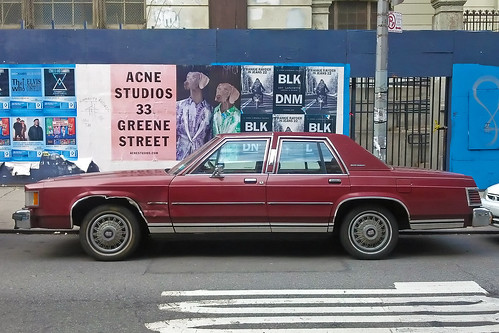 Dutifully serving Grand Marquis in the East Village | by jankor