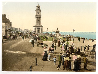 [Clock tower, Herne Bay, England]  (LOC) | by The Library of Congress