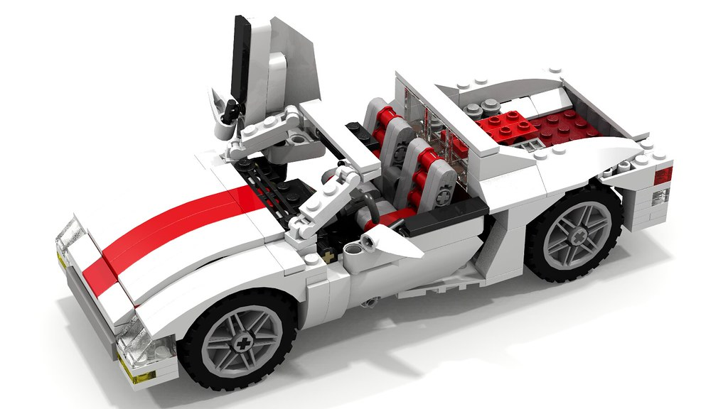 Catalana Lego Sports Car This Fantasy Lego Sports Car