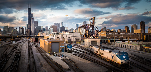 Sunset at the Rail Yards | by Chris Smith/Out of Chicago
