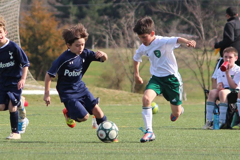 spring time soccer game 2