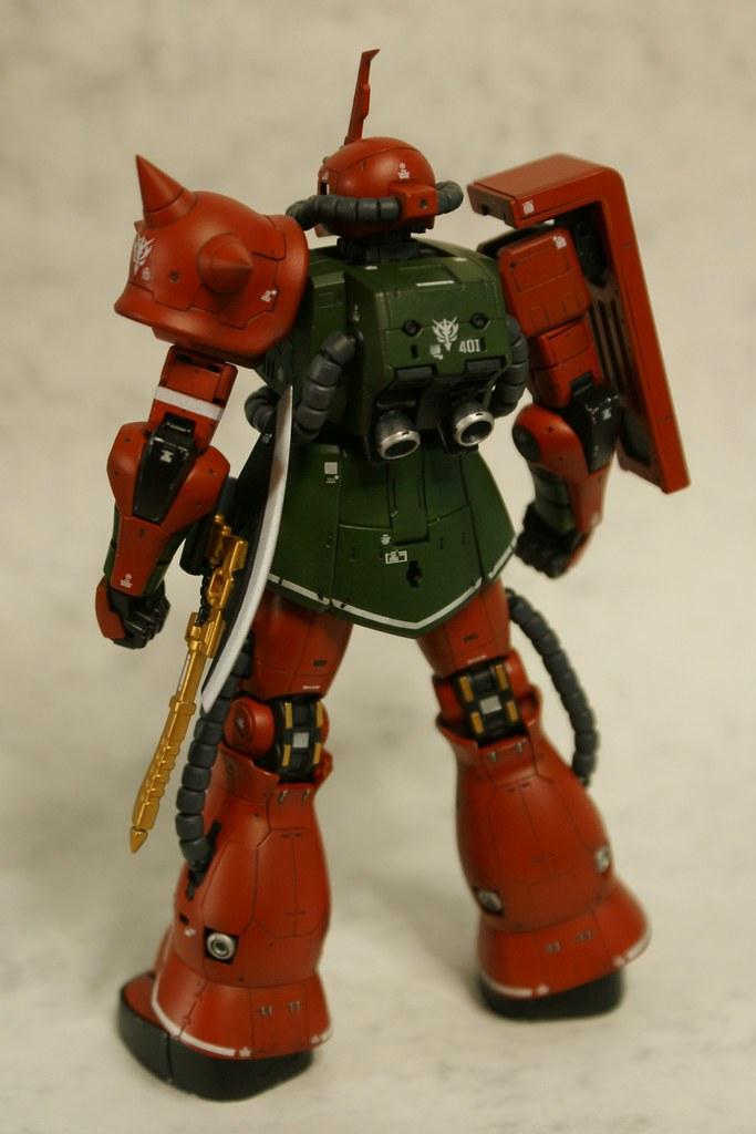 "Real Grade - MS-06FS Zaku II ""Garma Zabi Custom"" - Complet ..."