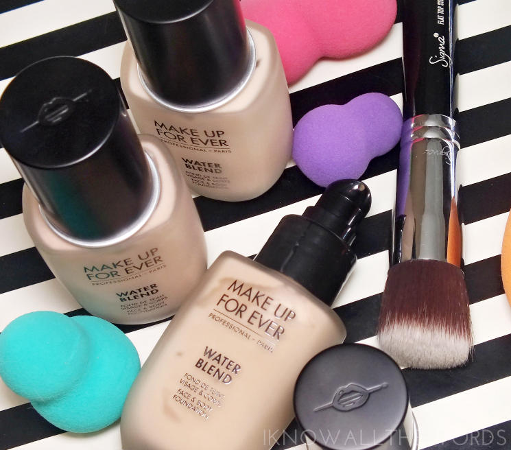 make up for ever water blend face & body foundation (3)