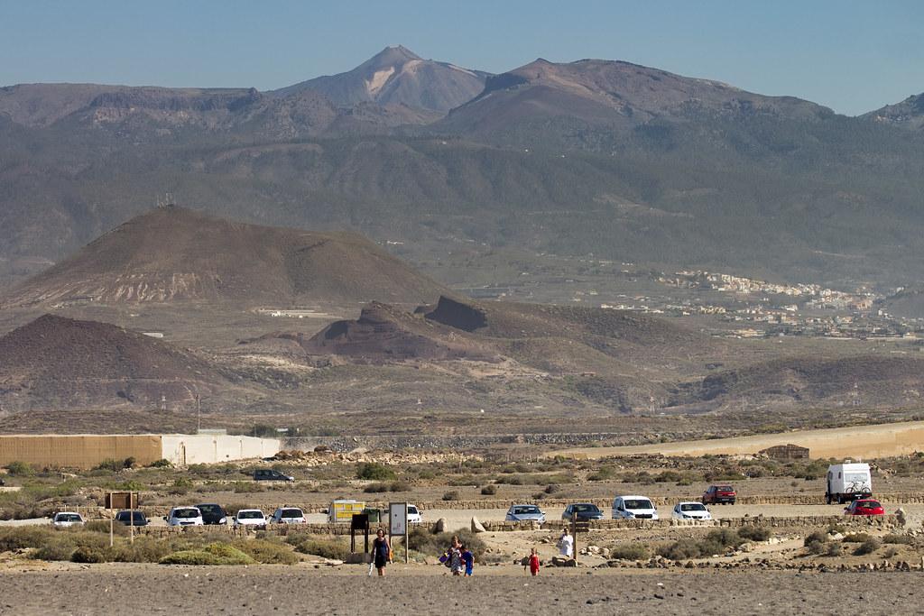 El Teide view from El Medano - Tenerife