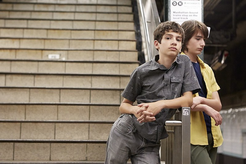 Michael Barbieri and Theo Taplitz have their friendship complicated by their parents in LITTLE MEN.