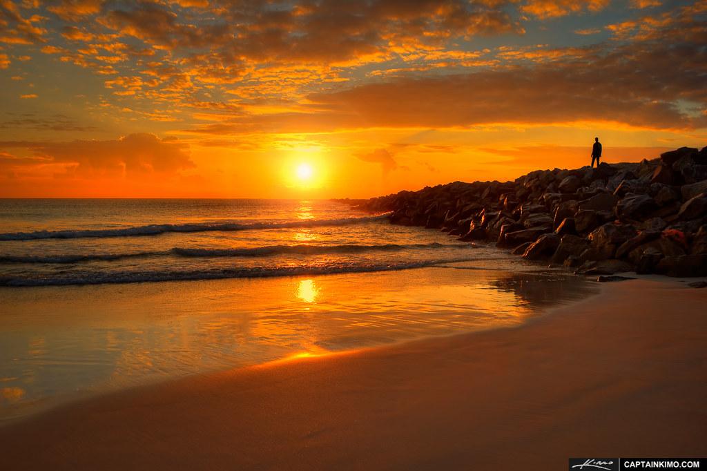 Sunrise In South Beach