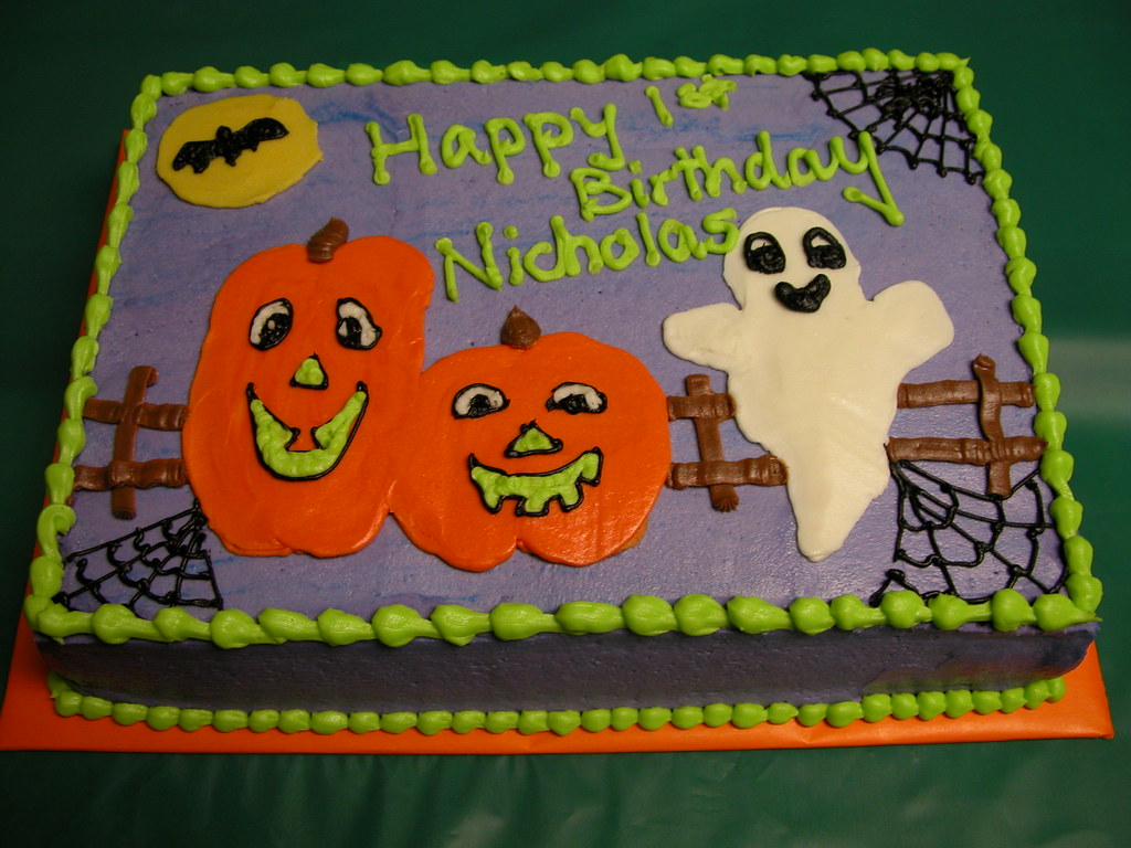 Halloween Sheet Cake Gina Morello Flickr