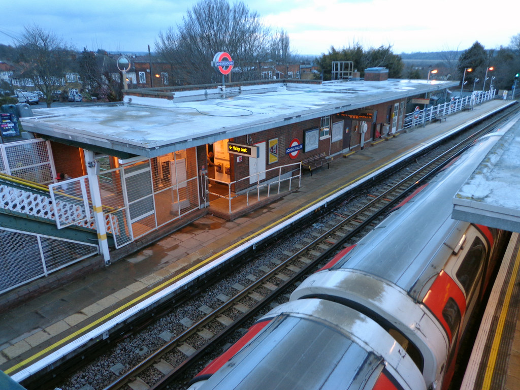 Roding Valley Station By Far The Least Used Station On