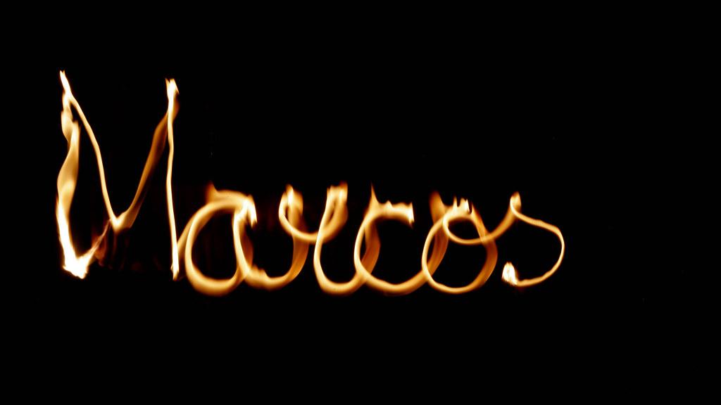 Fotos de Letras e Nomes feitas com fogo, fire,fuego. | Flickr