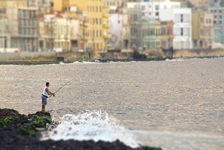 Fishing along the Malecón.. | by areyarey