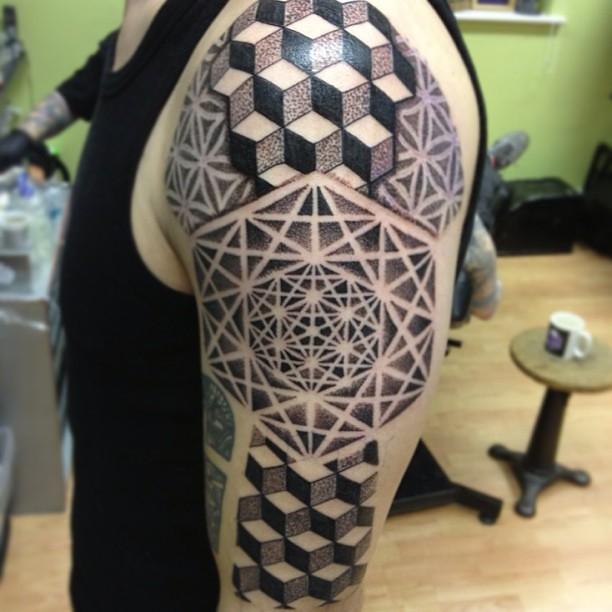 tattoo tattoos dotwork pinkydarling cosmictattoo pointill flickr. Black Bedroom Furniture Sets. Home Design Ideas