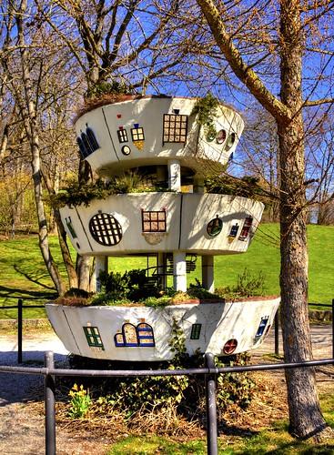 M nchen westpark model 1 20 des hoch wiesen hauses von for Gartenausstellung munchen