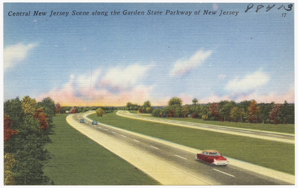 Central New Jersey Scene Along The Garden State Parkway Of Flickr