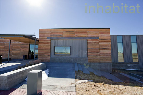 Rammed Earth Southeast Wyoming Welcome Center | by Inhabitat