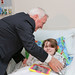 Gov. Corbett visits Children's Hospital