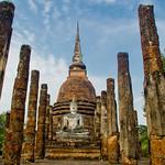 Wat Mahathat (Thailand, Sukhotai)