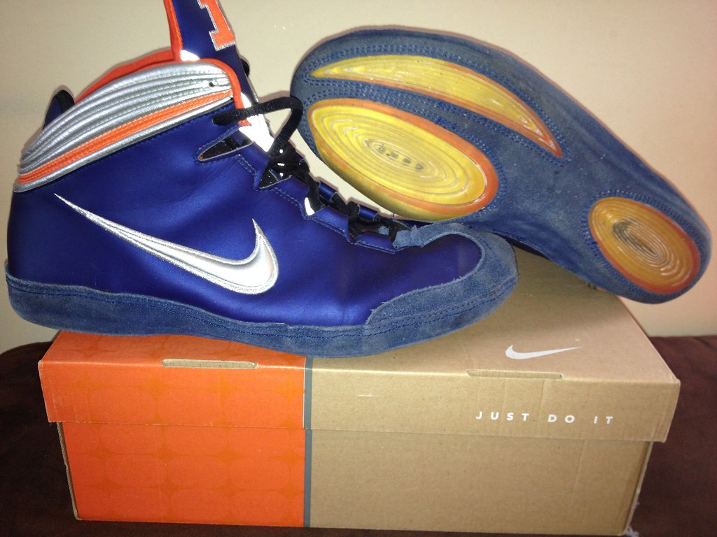 ... Original Nike Kolat Wrestling Shoes - ILLINI | by tcbyrd