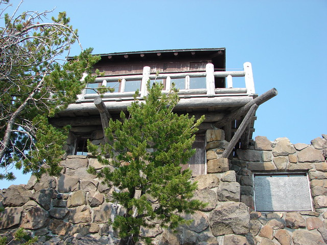 Lookout at the summit of The Watchman