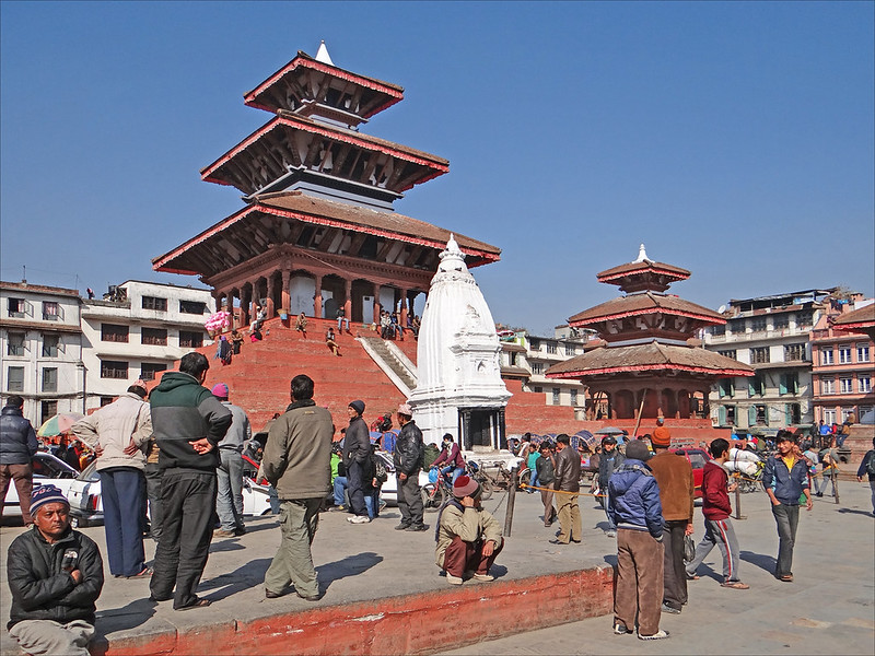 Le temple Maju Deval (Katmandou)