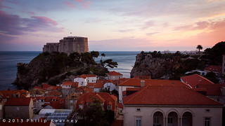 Dubrovnik Castle at Sunset | by Philip Kearney
