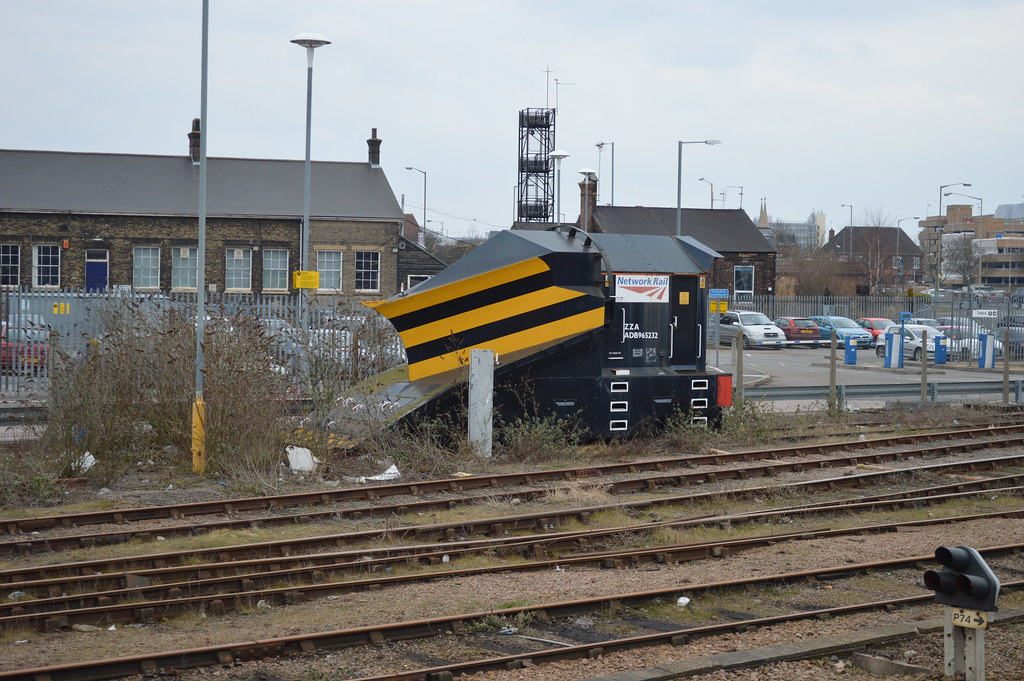 Network Rail Snow Plough Network Rail Snow Plough Parked