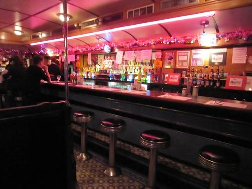Rosebud Diner Davis Square Somerville MA - Interior