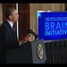 President Obama announcing new brain mapping initiative