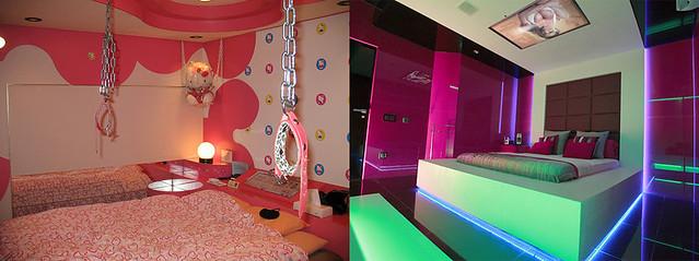 Love hotel de japon habitacion hello kitty y hotel para - Habitacion por horas zaragoza ...