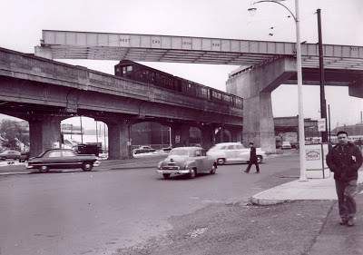 1950s Overpass Under Construction | by clayville