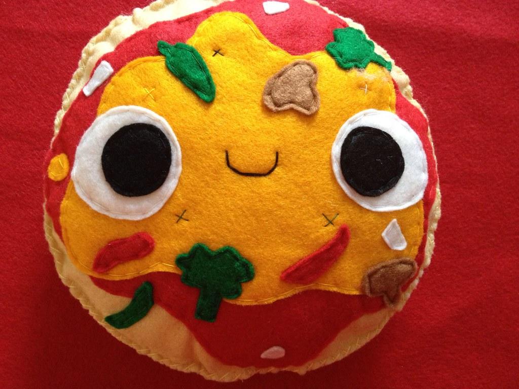 Felt Food Toys R Us : Kawaii veggie pizza plush stores ebay kidish inc