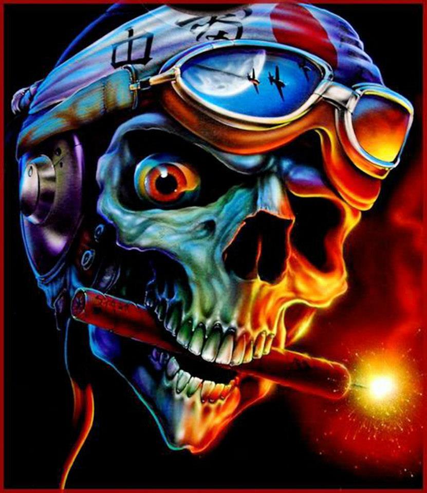 Skullmaster Eddie Davis S Art Gallery Eddie Davis Will Tea Flickr