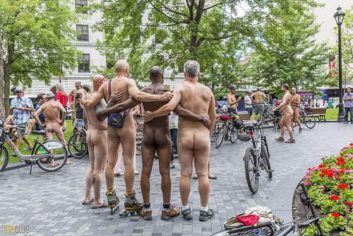 world naked bike ride montreal 07 | by Eva Blue