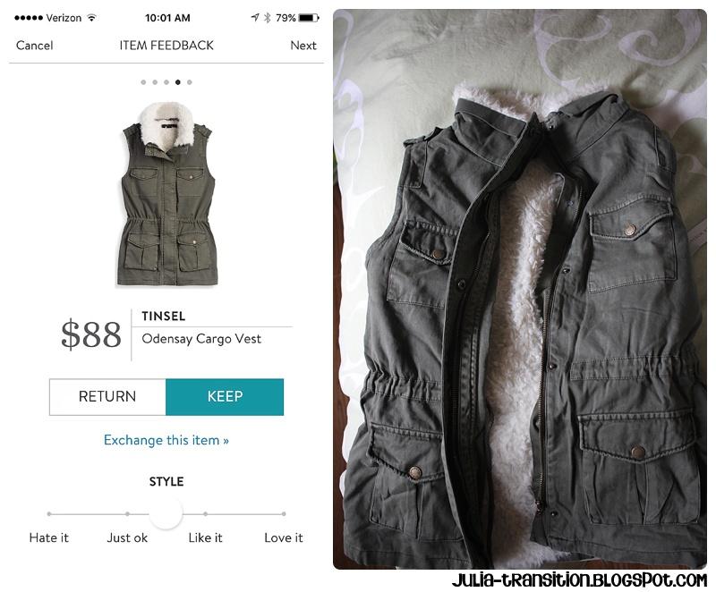 Tinsel Odensay Cargo Vest | $88